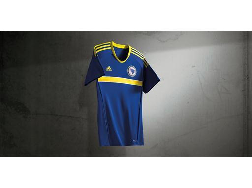 adidas представя новия екип на Футболната федерация на Босна и Херцеговина