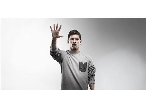 adidas - Messi fifth Ballon D'Or