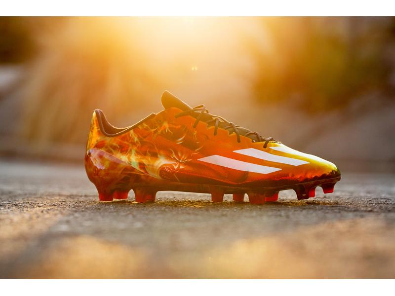 d838800ba adidas Football Unveils the Uncaged Demon 40 Cleats. adizero Uncaged Demon  40