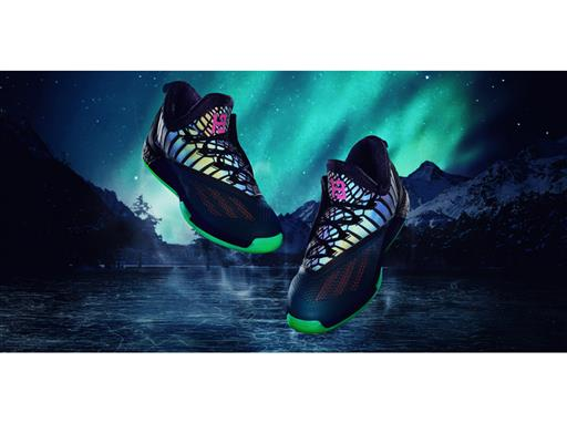 172b9ab7d827 ... Crazylight Boost 2.5 PE of the Aurora Borealis Basketball Collection.  adidas ASW16 Harden PE Pair Glow Horizontal