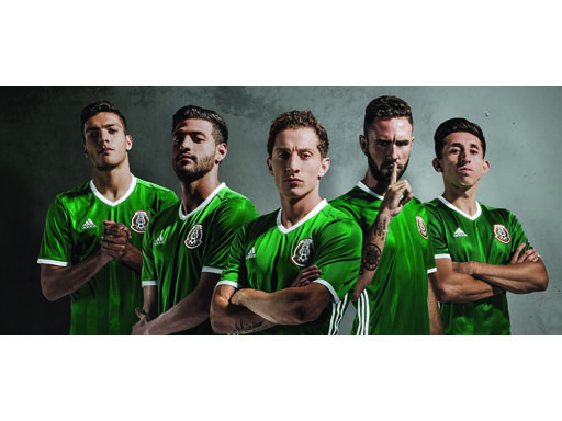 Mexico's National Football Team New Kit
