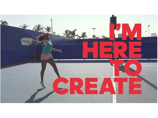 「I'm Here to Create」 Osaka Naomi TOP