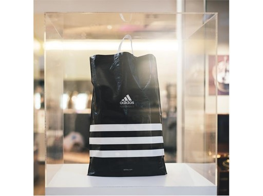 The adidas Group removes plastic shopping bags from its own retail stores TOP