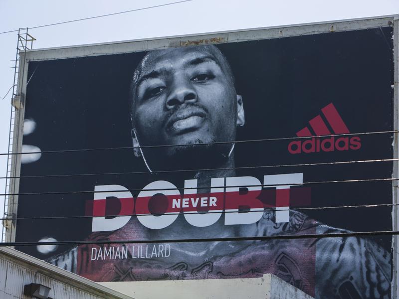 adidas Damian Lillard Billboard 1