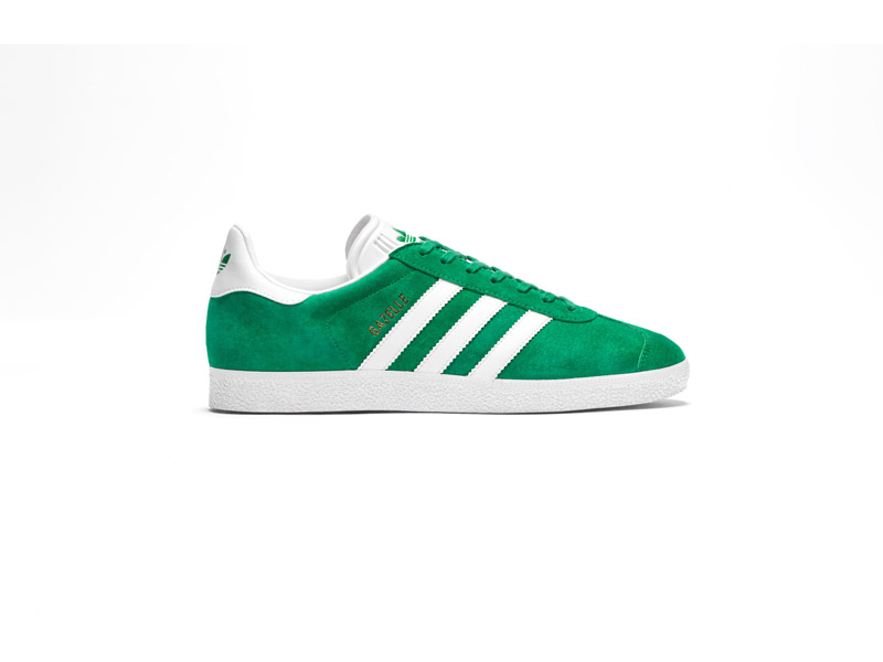 adidas Originals Gazelle FW16 Product Imagery Green Lateral