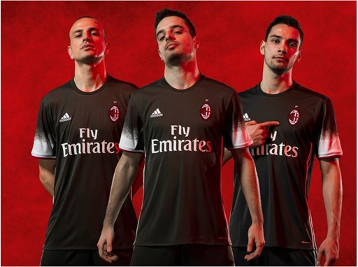 AC MILAN 16-17 Kit PR GROUP THIRD
