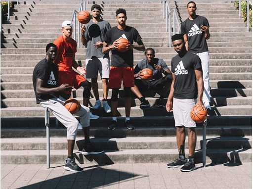 2016 Rookie Class at adidas Village