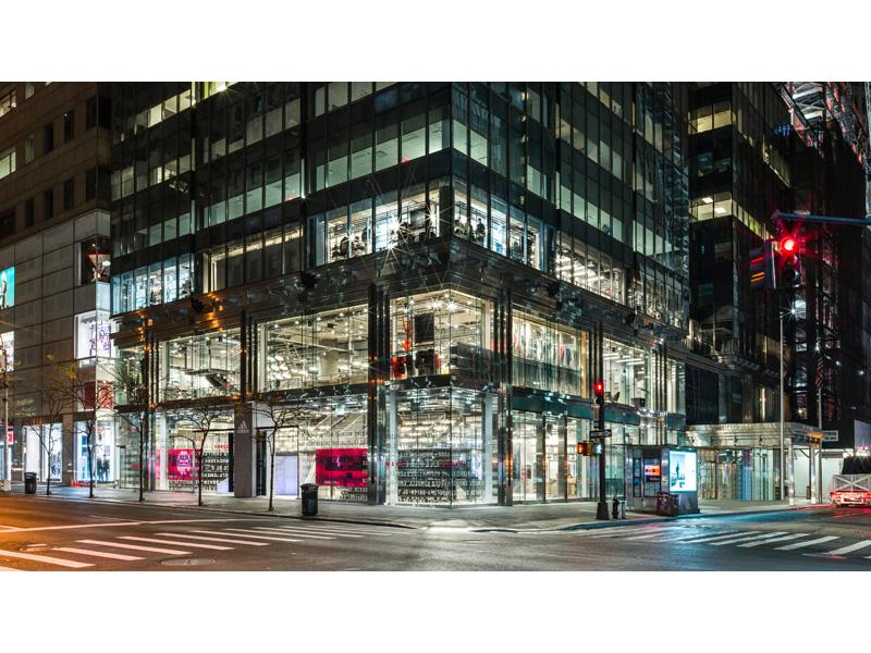 adidas NYC Flagship 5th Ave Exterior Shot 4