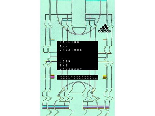 adidas Design Academy Poster