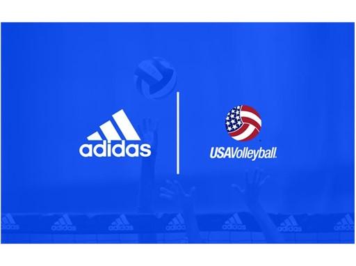 adidas USAV Logo LockUp
