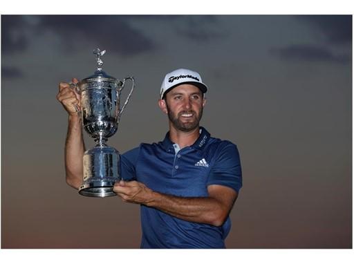 Dustin Johnson Wins 116th U.S. Open Championship