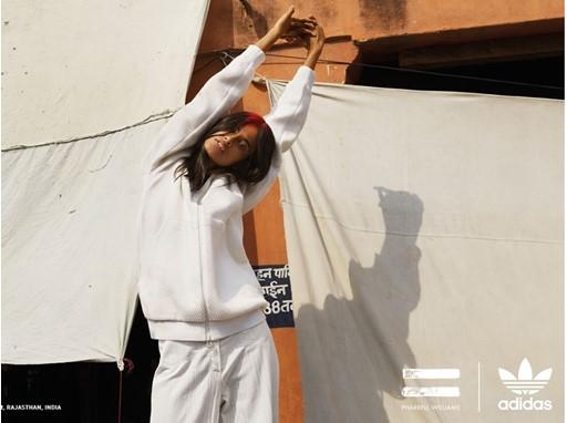 adidas Originals PHARRELL WILLIAMS Hu Holi Blank Canvas PR Horizontal Look 1 Opt 1
