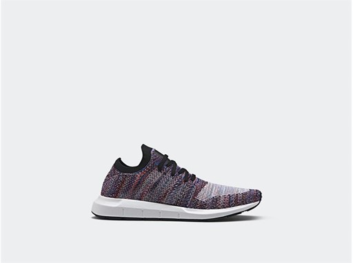 adidas Originals' streamlined Swift Run model appears in two new editions  this month for men and women, stepping out in a duo of multicolor Primeknit  ...