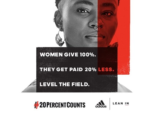 adidas Equal Pay Day