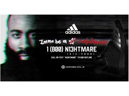 adidas HardenVol2 Nightmare