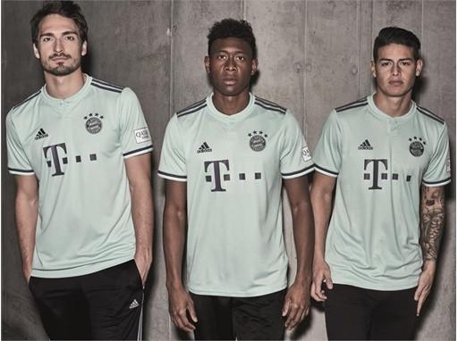 FC Bayern Auswärtstrikot 1