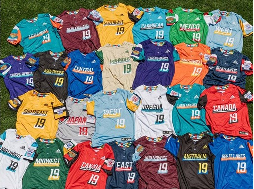 adidas LLWS Baseball & Softball Uniforms