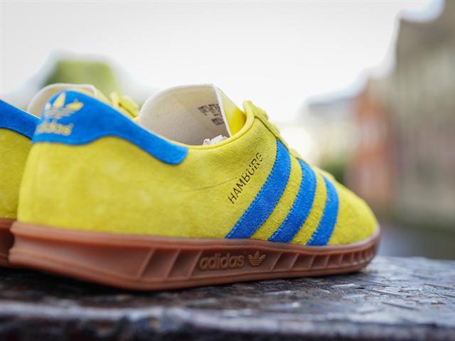 adidas originals hamburg yellow