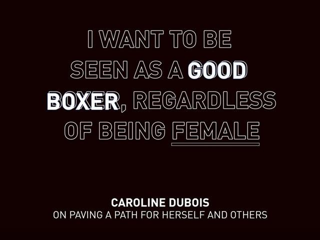 Caroline Dubois Quote