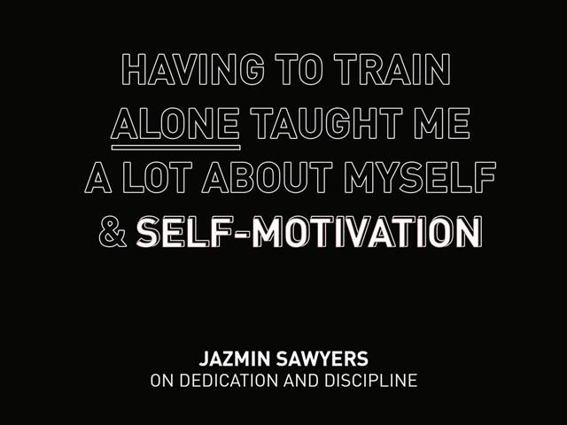 Jazmin Sawyers Quote