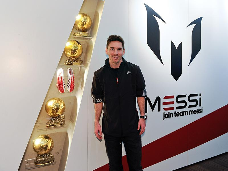 0da5af6ed thenewsmarket.com : adidas launches Messi Gallery in Barcelona