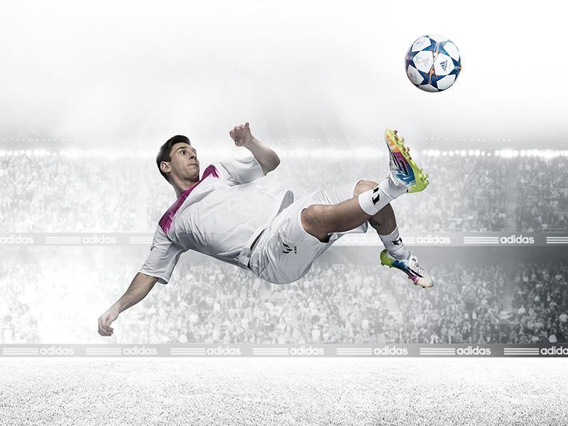 adidas lancia le nuove scarpe adizeroTM f50 di Messi e il