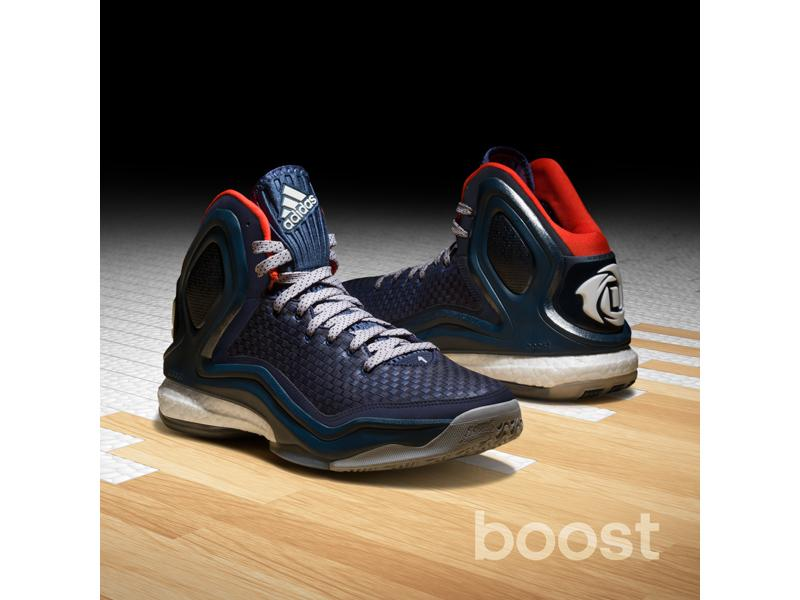 premium selection 7eea4 7880a adidas D Rose 5, Woven Blues, C76547, 2, Sq