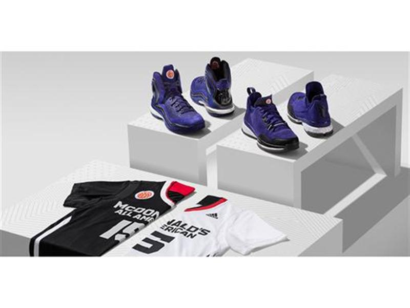 adidas NEWS STREAM : adidas and McDonald's All American Games Unveil New  Footwear and Uniforms