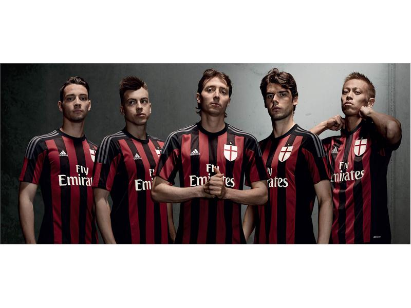 competitive price 130e7 f5aec thenewsmarket.com : adidas and AC Milan launch the Rossoneri ...