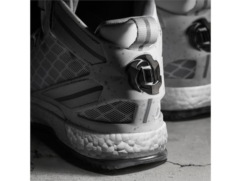 adidas NEWS STREAM   D Rose 6 Home Detail 1 Square (S85532) da52ffc609d5