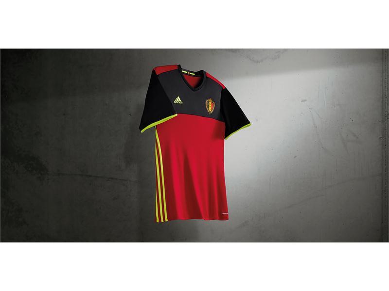 df43721299b adidas NEWS STREAM : Belgium Reveal New Home Kit Ahead of UEFA EURO 2016™