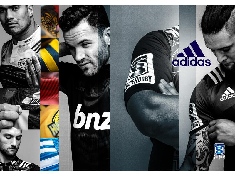 1e762a06340 adidas NEWS STREAM : 'Born of this land' – adidas unveils iconic jerseys  for 2016 Investec Super Rugby season