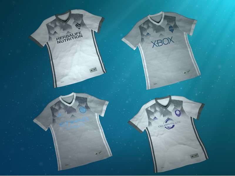 b7d45bf61 adidas NEWS STREAM : adidas and Major League Soccer Join forces with Parley  for the Oceans, Introducing the First MLS Club Jerseys Made from Parley  Ocean ...