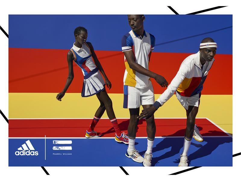 adidas NEWS STREAM : adidas Tennis Collection by Pharrell