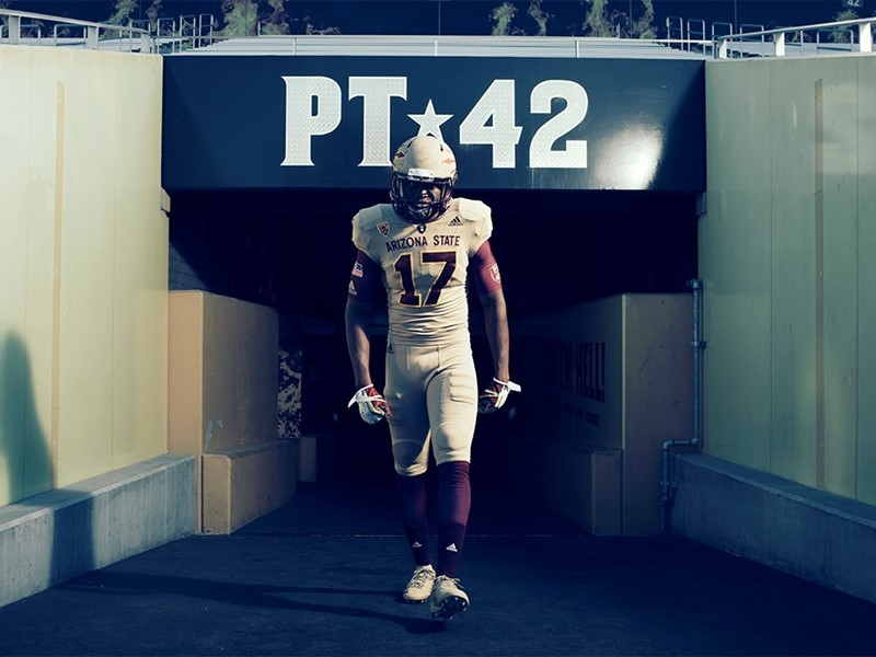 watch de211 ce47a Arizona State Honors Pat Tillman and Our Nation's Veterans ...
