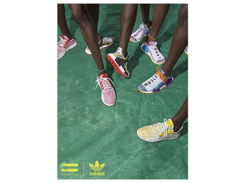 9429aa3fd adidas Originals by Pharrell Williams Pharrell Williams SOLARHU Collection  — Fall Winter 2018