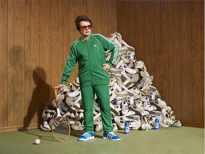 Vago Librería de ultramar  adidas and Billie Jean King collaborate to drive change for girls in sport