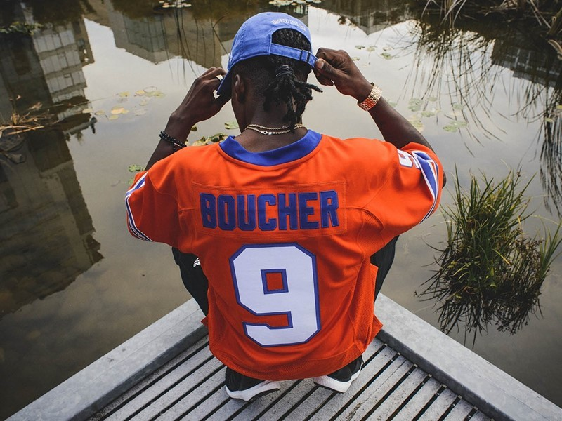 ... Remember the time Bobby Boucher showed up at halftime and helped the  SCLSU (South Central Louisiana State University) Mud Dogs win the Bourbon  Bowl  e2e4d8c04e0a