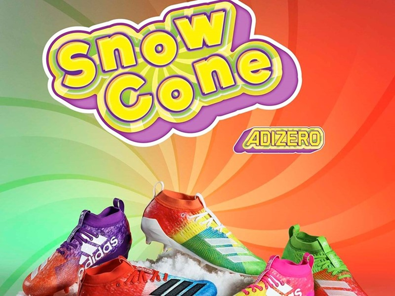 "b4b19185c6 adidas Introduces the Special Edition adizero 8.0 ""Snow Cone"" Pack"