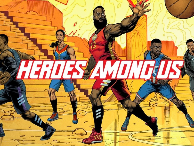 recepción influenza Admirable  adidas and Marvel celebrate Basketball's mightiest Heroes with new footwear  collection