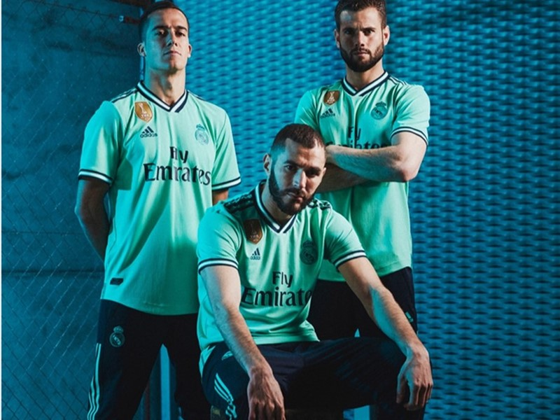 adidas and Real Madrid reveal third kit for 2019/20