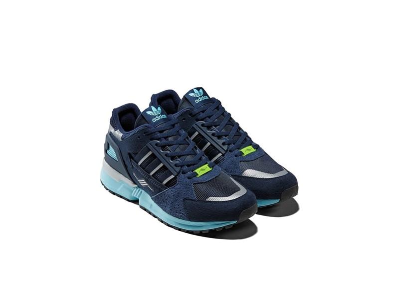 Adidas Originals ZX 10000 Blue White Blue Running Shoes
