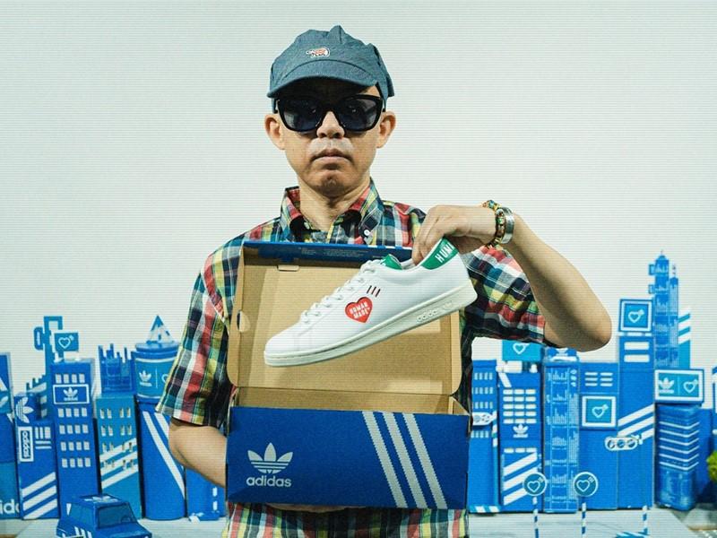 adidas Originals and HUMAN MADE collaborate on three classics