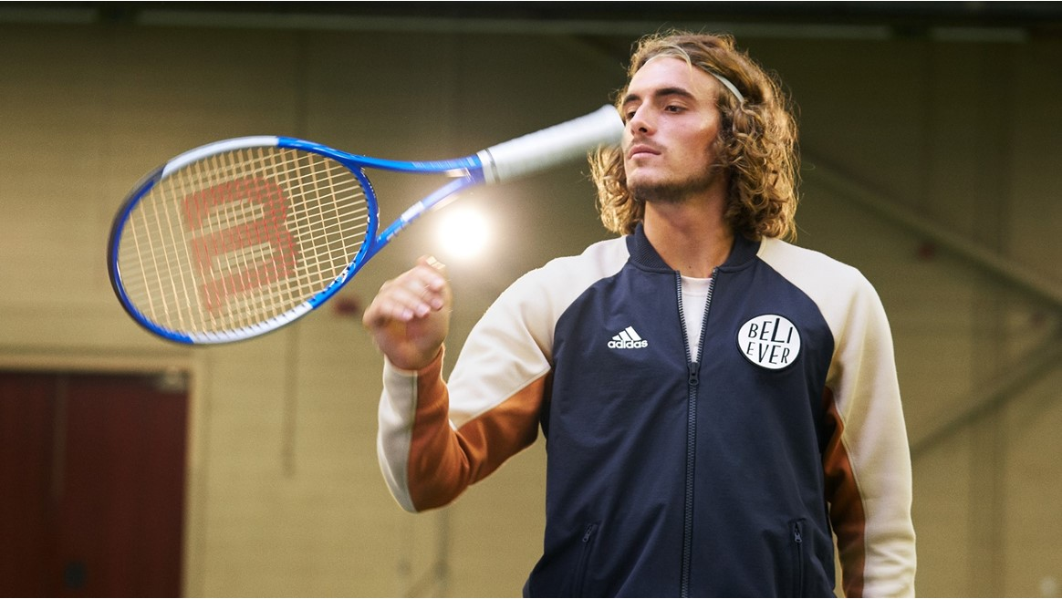 Adidas News Site Press Resources For All Brands Sports And Innovations Stefanos Tsitsipas