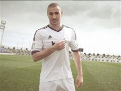 110 años de historia en una camiseta Lanzamiento de las equipaciones del Real Madrid para la temporada 2012 / 2013