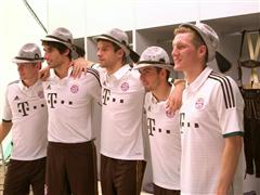 New lederhosen-style kit for FC Bayern