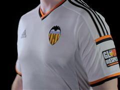 adidas presenta la nueva camiseta del Valencia CF para la temporada 2014/2015