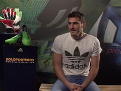 adidas lanza un vídeo de Íker Casillas en su visita a las oficinas de Soloporteros