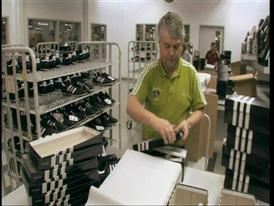 adidas production in Scheinfeld, Germany