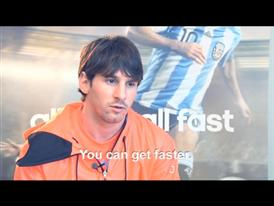 adidas Speed Week Barcelona with Lionel Messi